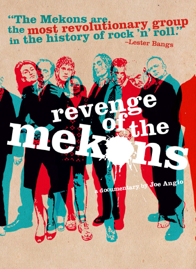 Movie poster for Revenge of the Mekons - British Punk Band