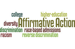 affirmative discrimination essay Essay/term paper: affirmative action essay, term paper, research paper: history essays  discrimination cases have been brought to court, the result is just more confusion this is because there is a lot of gray in the law concerning this topic sometimes courts allow someone to choose the minority if they are less.