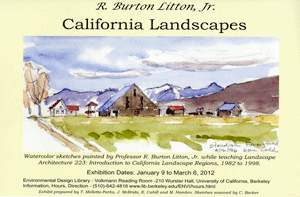 R. Burton Litton, Jr exhibit poster