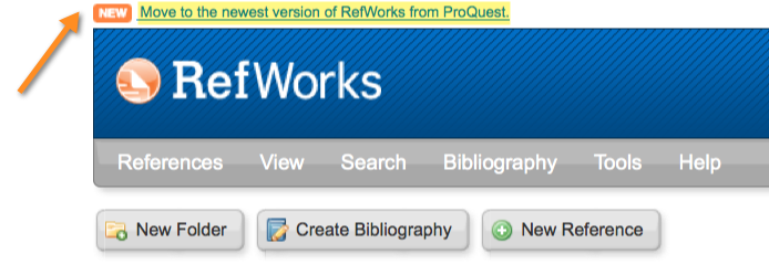 RefWorks Export Citations