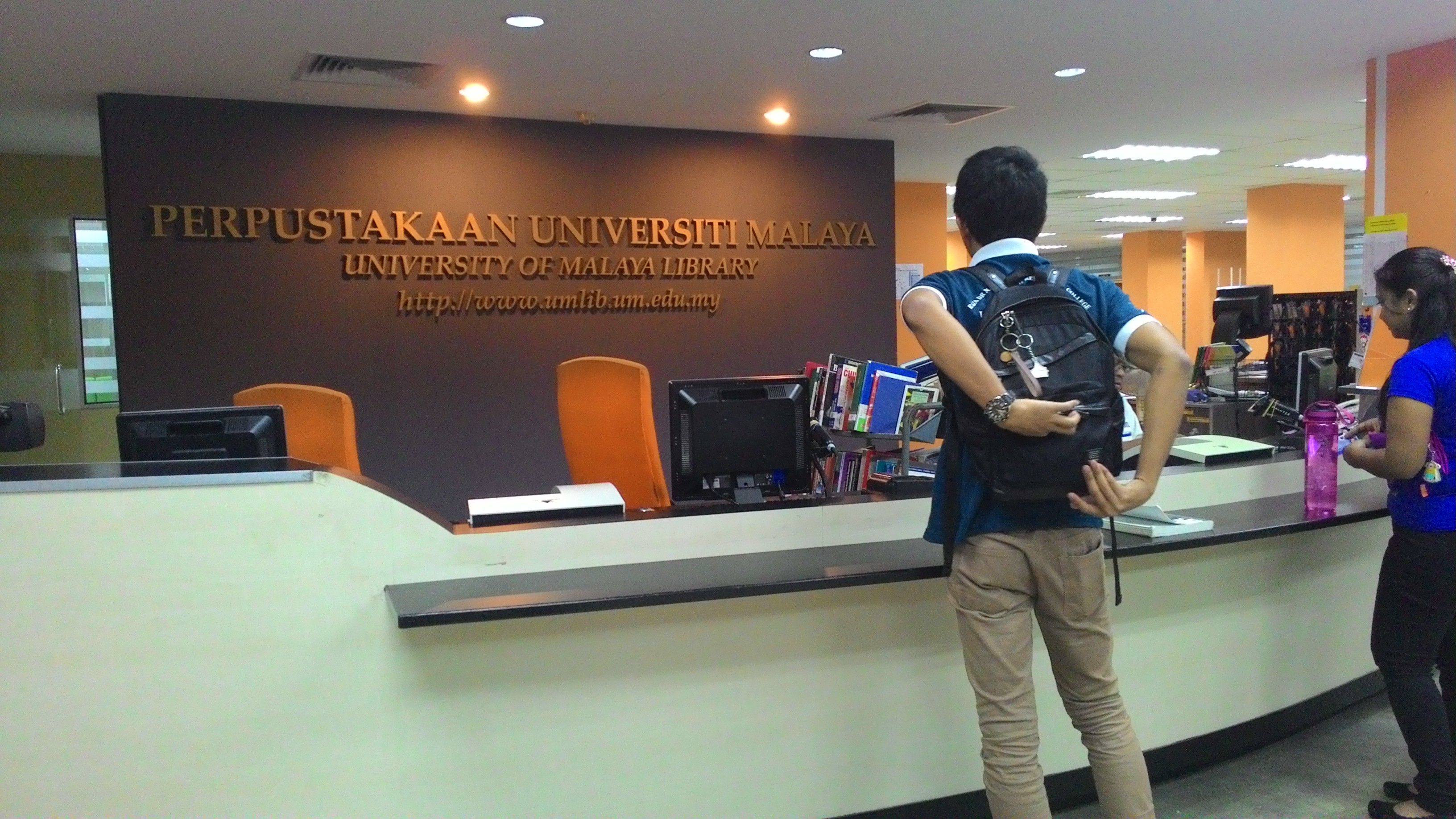 Librarians The University Of Malaya Library