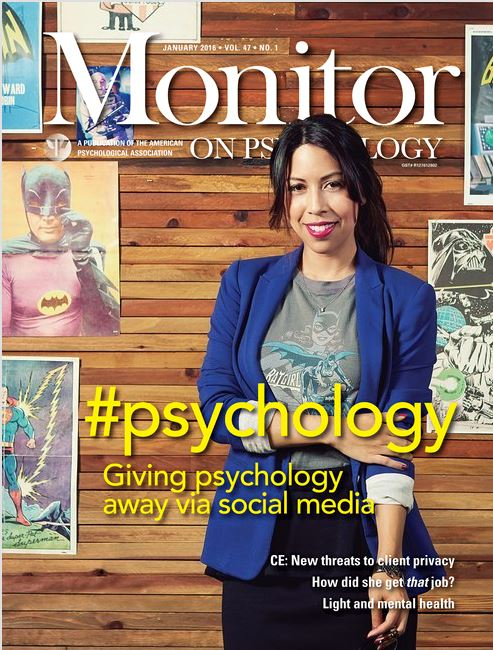 Monitor on psychology