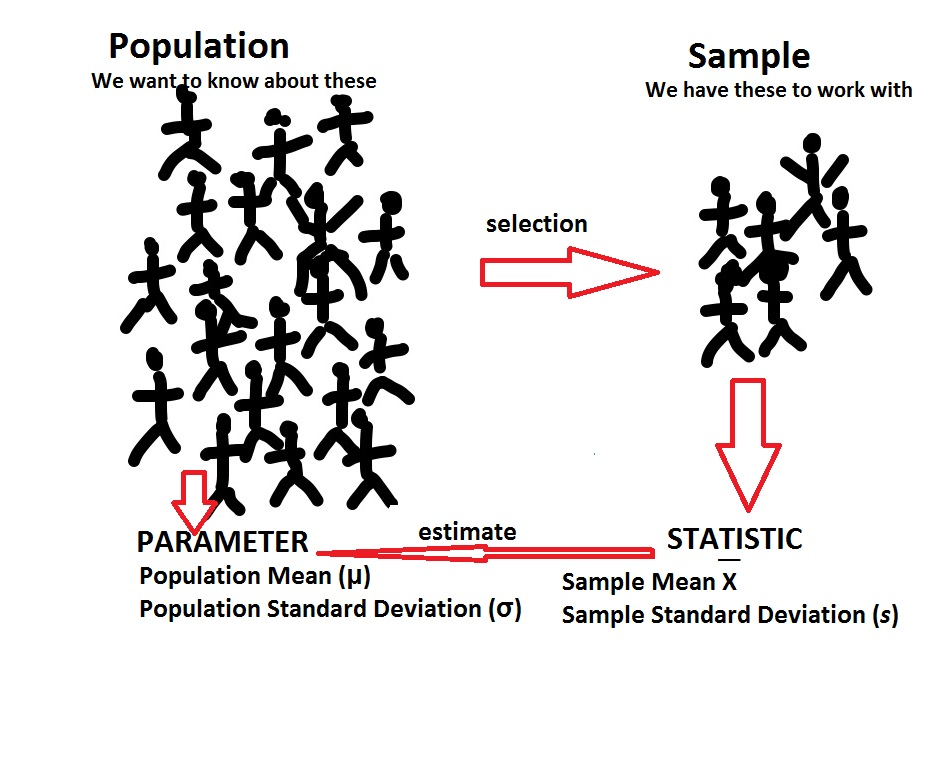 sample and population examples