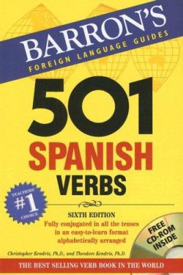 Cover image of 501 Spanish Verbs