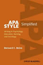 Cover Image of APA Style Simplified