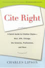 Cover Image of Cite Right