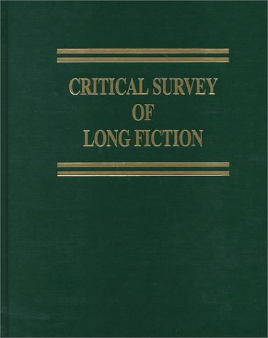 Cover image of Critical Survey of Long Fiction