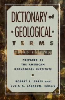 Cover image of Dictionary of Geological Terms