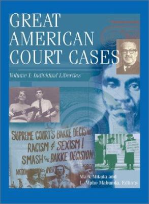 Cover image of Great American Court Cases Series