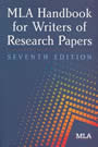 Cover Image of MLA Handbook for Writers of Research Papers