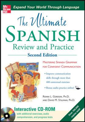 Cover image of Ultimate Spanish Review and Practice
