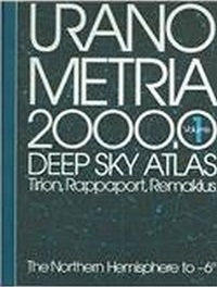 Cover image of Uranometria 2000.0 Deep Sky Atlas