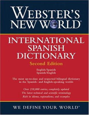 Cover image of Webster's New World International Spanish Dictionary / Webster's New World Diccionario Internacional Espanol