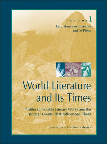 Cover image of World Literature and Its Times