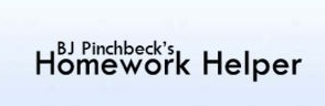 BJ Pinchbeck's Homework Helper Website