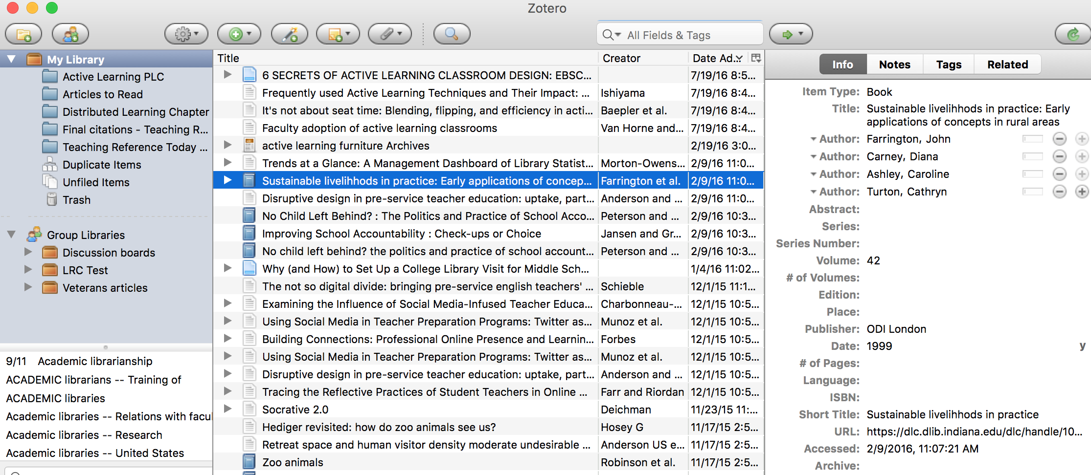 Using zotero zotero library guides at oral roberts university citations are stored in your zotero library ccuart Images
