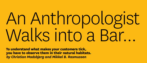 """An Anthropologist Walks into a Bar"" article button"