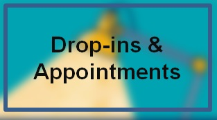 Drop-ins and appointments