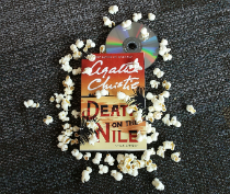 Death on the Nile book jacket with DVD