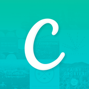Canva App-please select iOS or Android below to access the app