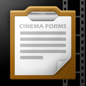Cinema Forms App-please select iOS or Android below to access the app