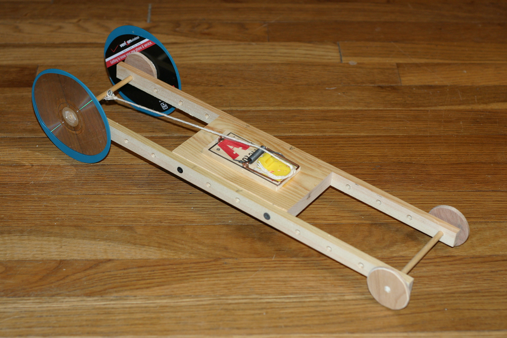 Building A Mousetrap Race Car