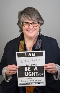 """I am a librarian and I will be a light for privacy and access to information."""