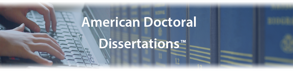 online database phd dissertations