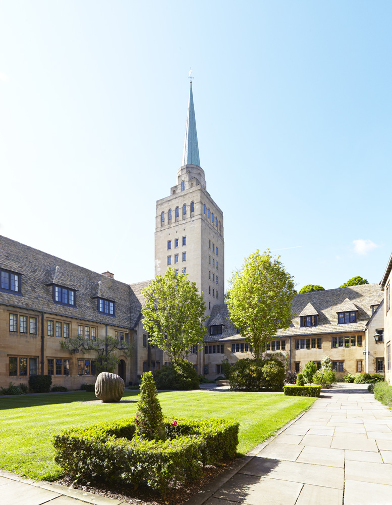 Nuffield College tower