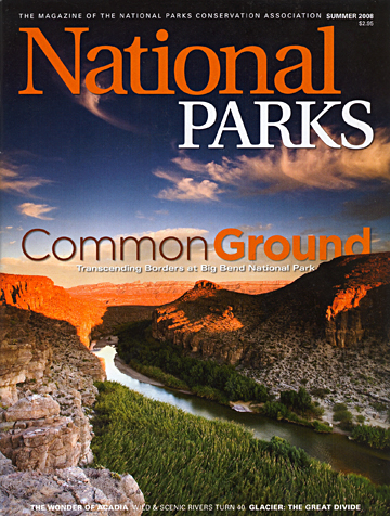 Image: National Parks magazine