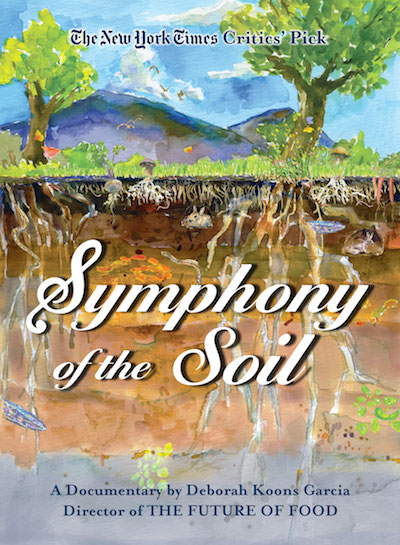 DVD cover: Symphony of soil