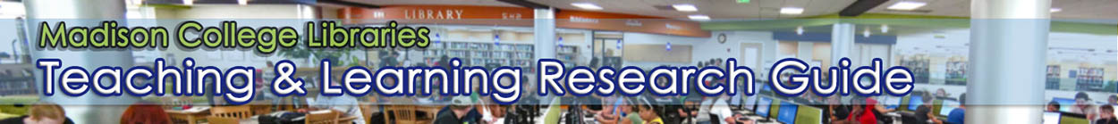 Teaching and Learning Research Guide banner