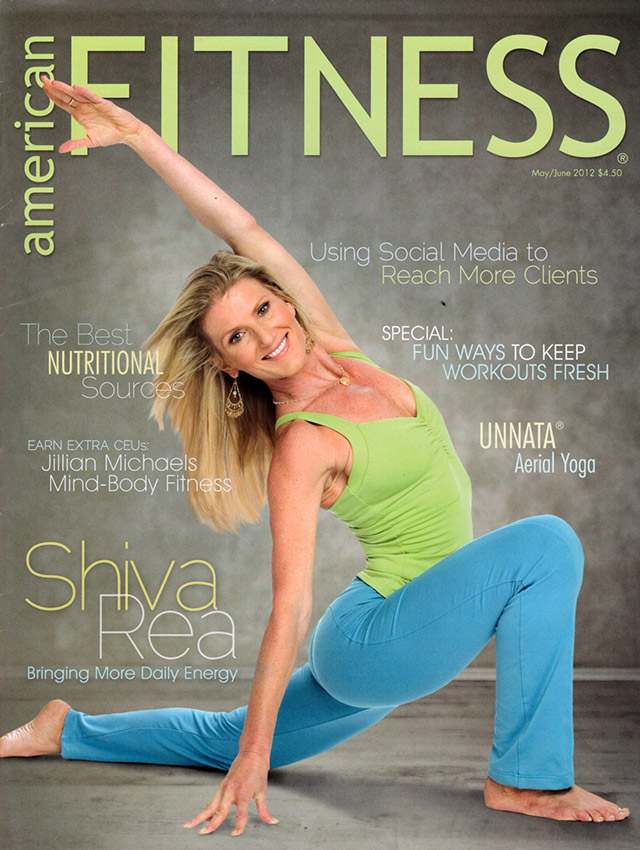 Image: American fitness magazine cover