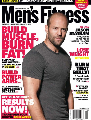 Image: Mens fitness magazine cover