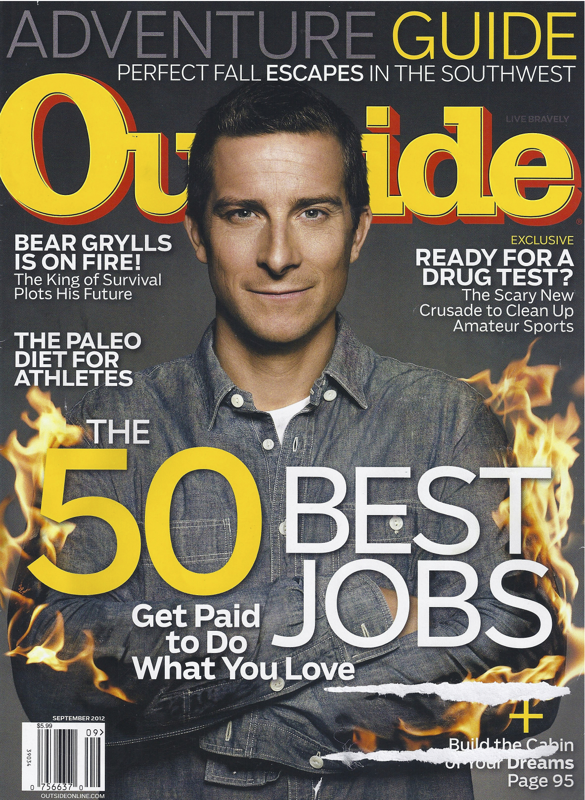 Image: Outside Magazine cover