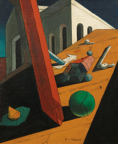 Evil Genius of a King, by Giorgio de Chirico