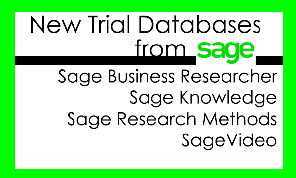 Sage Trial Databases