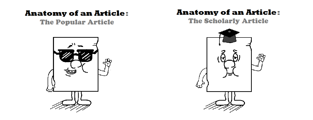 What kind of article is it? - The Americas - UTEP Library Research ...