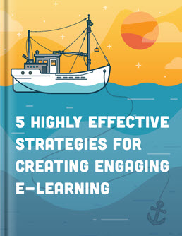 cover of five highly effective strategies for creating engaging e-learning