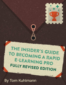 cover of the insider's guide to becoming a rapid e-learning pro