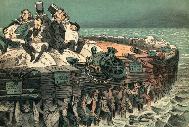 Picture depicting Robber barons