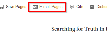 Email Pages