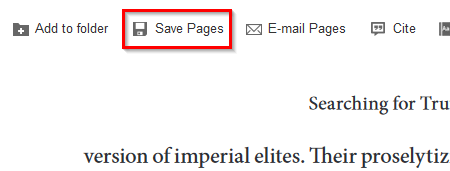 Save Pages