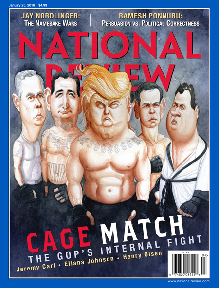 National Review magazine cover