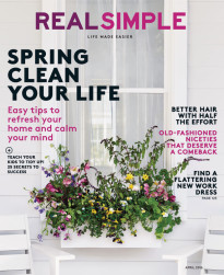 Real Simple magazine cover