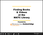 finding books slideshow