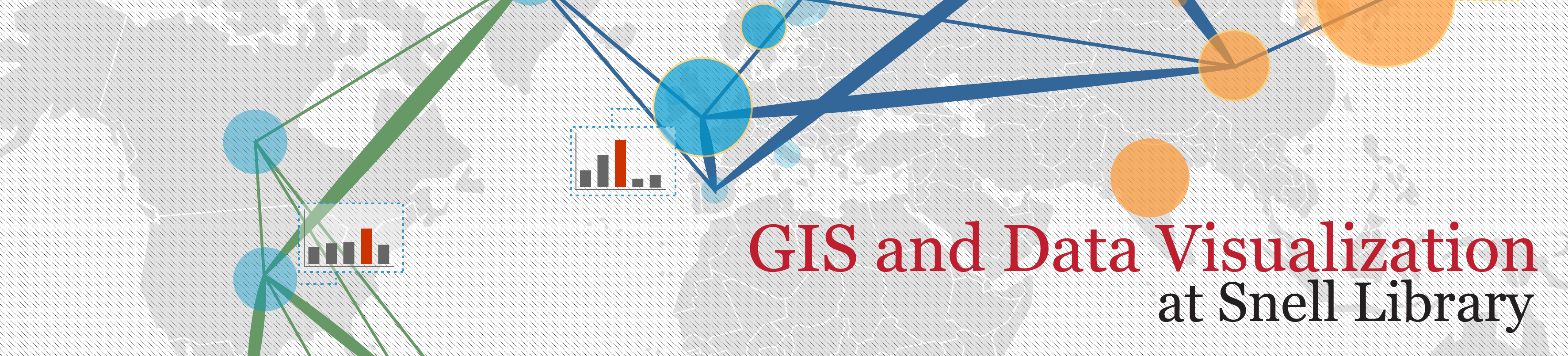 GIS and Data Visualization at Snell Library banner
