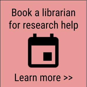 Book a librarian for research help flyer