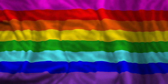 Pride Flag by CFJF20 from Flickr CC BY-SA 2.0