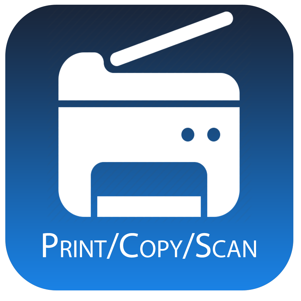 print / copy / scan icon